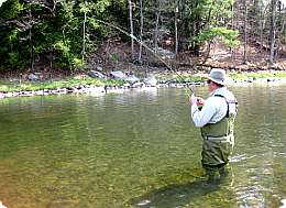 Fly Fishing the West Branch of the Delaware River.